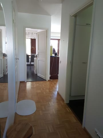 56m2 cozy apartment with balcony,sauna and parking