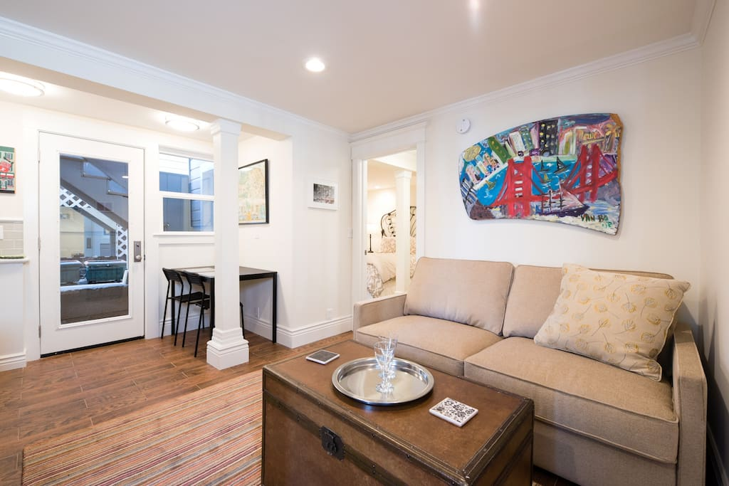 Hot spot with cozy pied a terre flats for rent in san - Airbnb san francisco office phone number ...