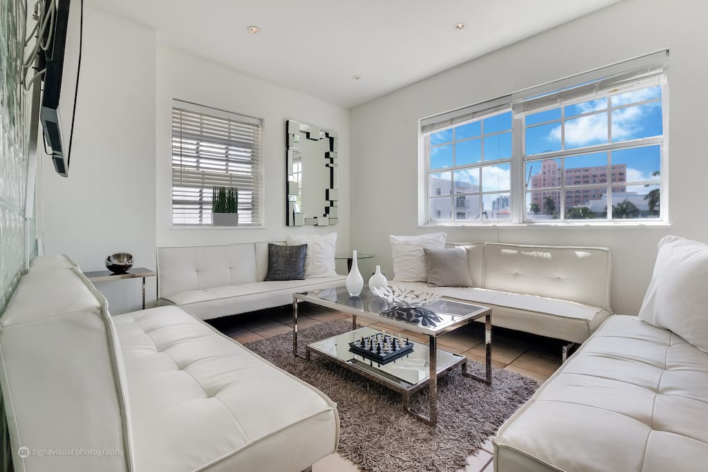 4 Rm Ocean Drive South Beach Deluxe Suite Serviced Apartments For Rent In Miami Beach Florida
