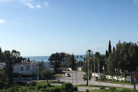 Sea view, Newly Built, Modern 1 Bed - Hammamet
