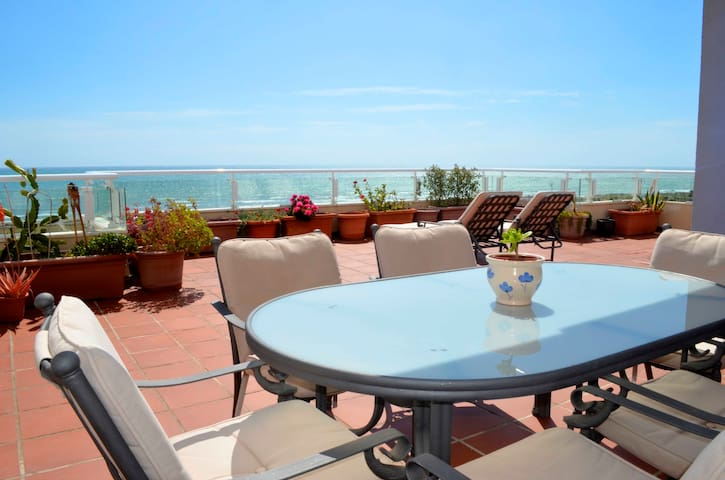 Seaview duplex loft apartment - Almerimar - Apartment