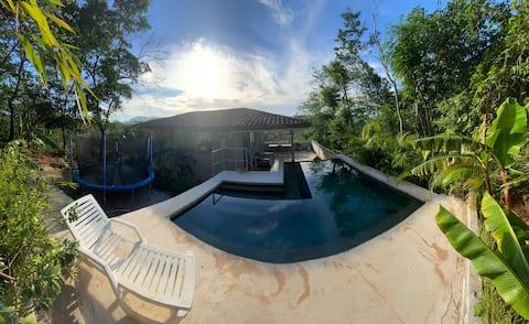 Private Pool House close to Playa Grande beach