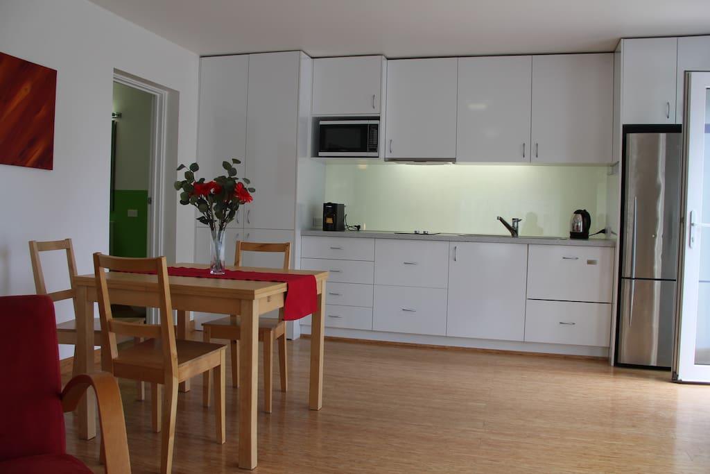 New kitchen including dishwasher