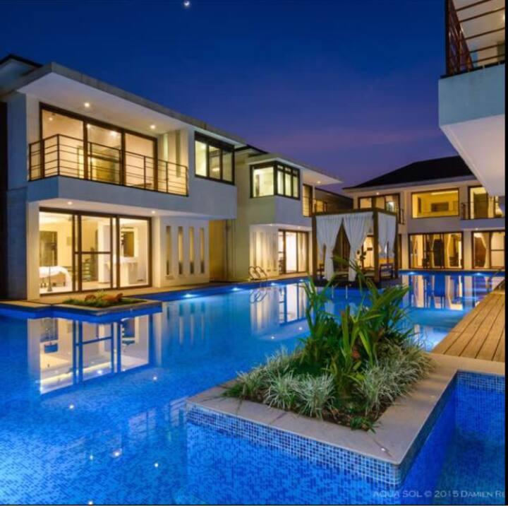 3BHK Bali style Luxury Pool villa North Goa