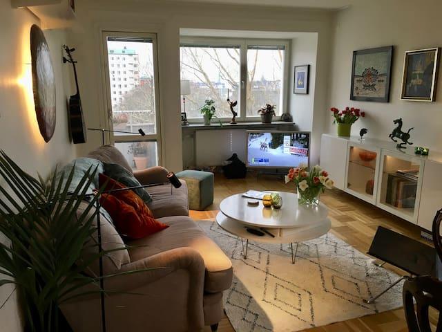 Ljus och mysig lägenhet i Sickla