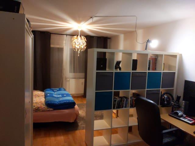Ruhige 1 Zimmer-Wohnung in grüner Lage (Wald-Nähe)