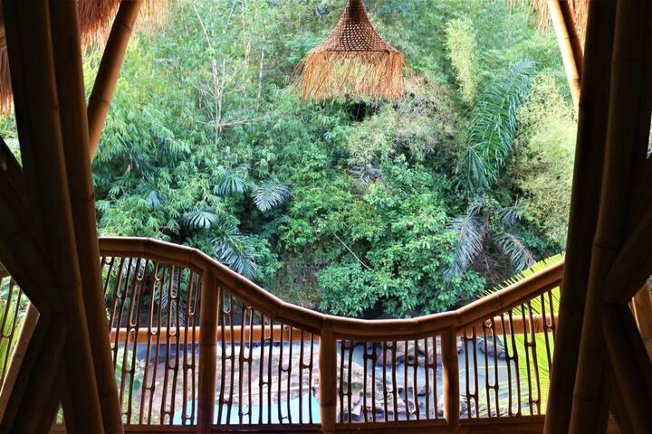 Riverside Bamboo Villa Retreat in Tabanan, Bali
