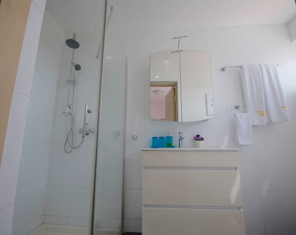 Modern and clean Bath room 1
