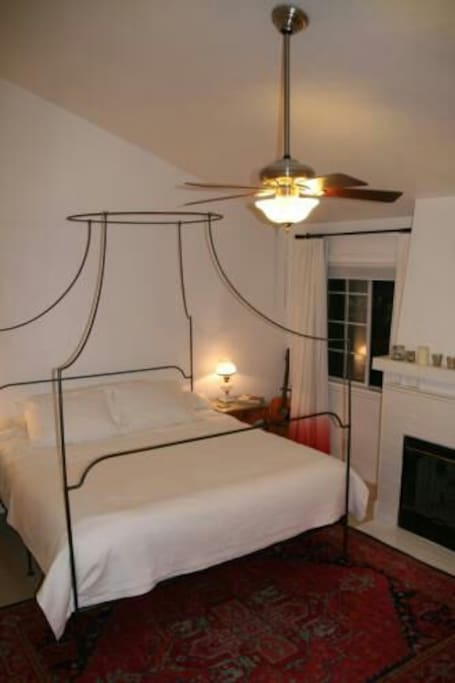 Master bedroom - King Size bed - Walk in shower - Walk in closet.