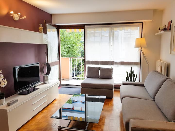 Lovely 40 sqm appartment with balcony
