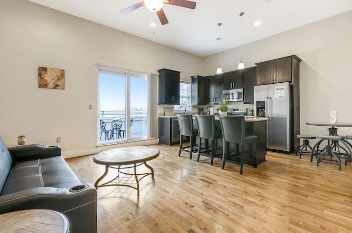 Beautiful Penthouse  steps  from French Quarter