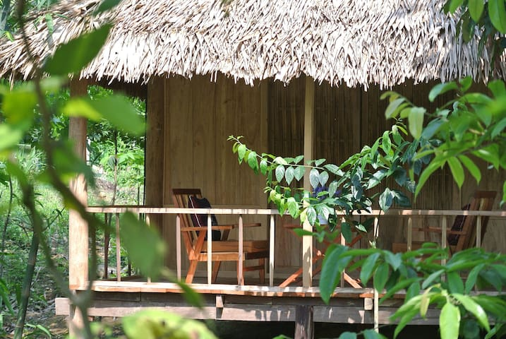 Ban Hieu Garden Lodge - Lũng Cao - Naturhytte