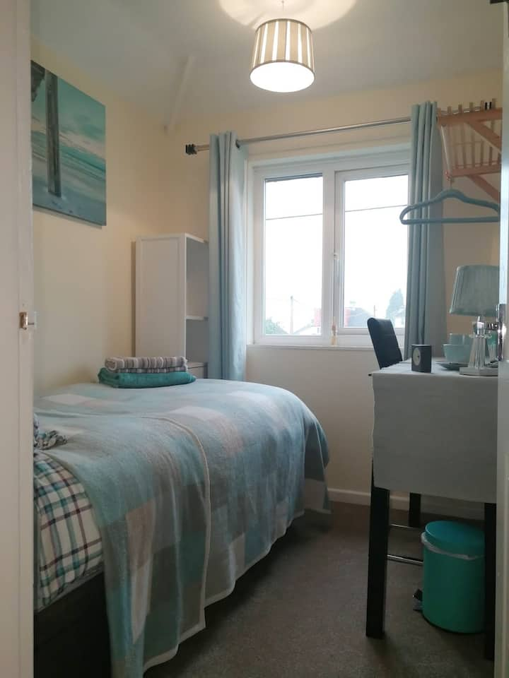 ★Comfy★Small Single Rm/2.2 miles from Oxford