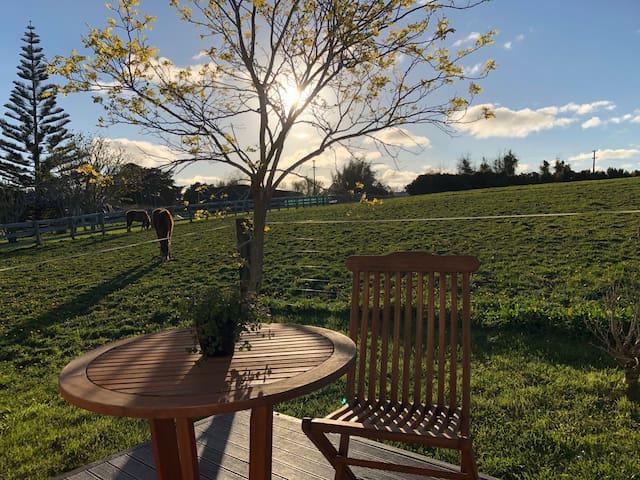 kumeu Home with country Views