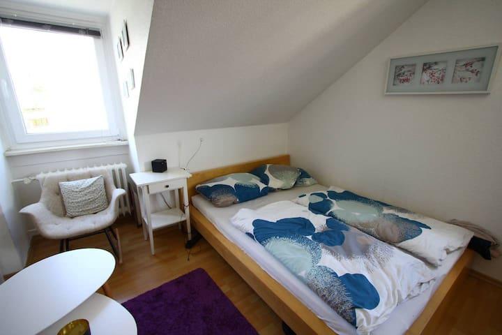 Gemütliches Zimmer im Kasseler Zentrum