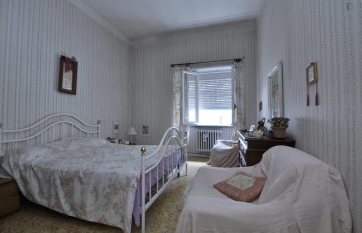 Splendida camera matrimoniale Roma