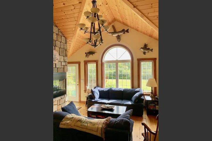 Caddis Cove Lodge ~ Beautiful Averill Lake View
