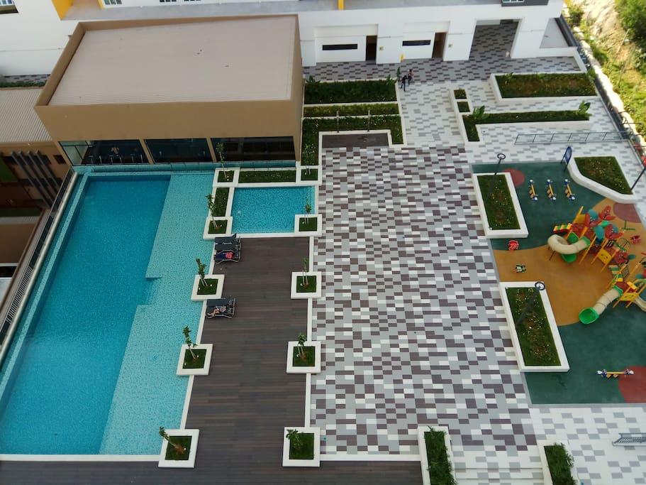 swimming pool abd playground lvl5