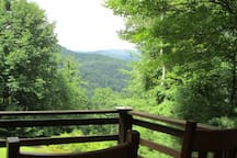 View of Appalachian Mountains