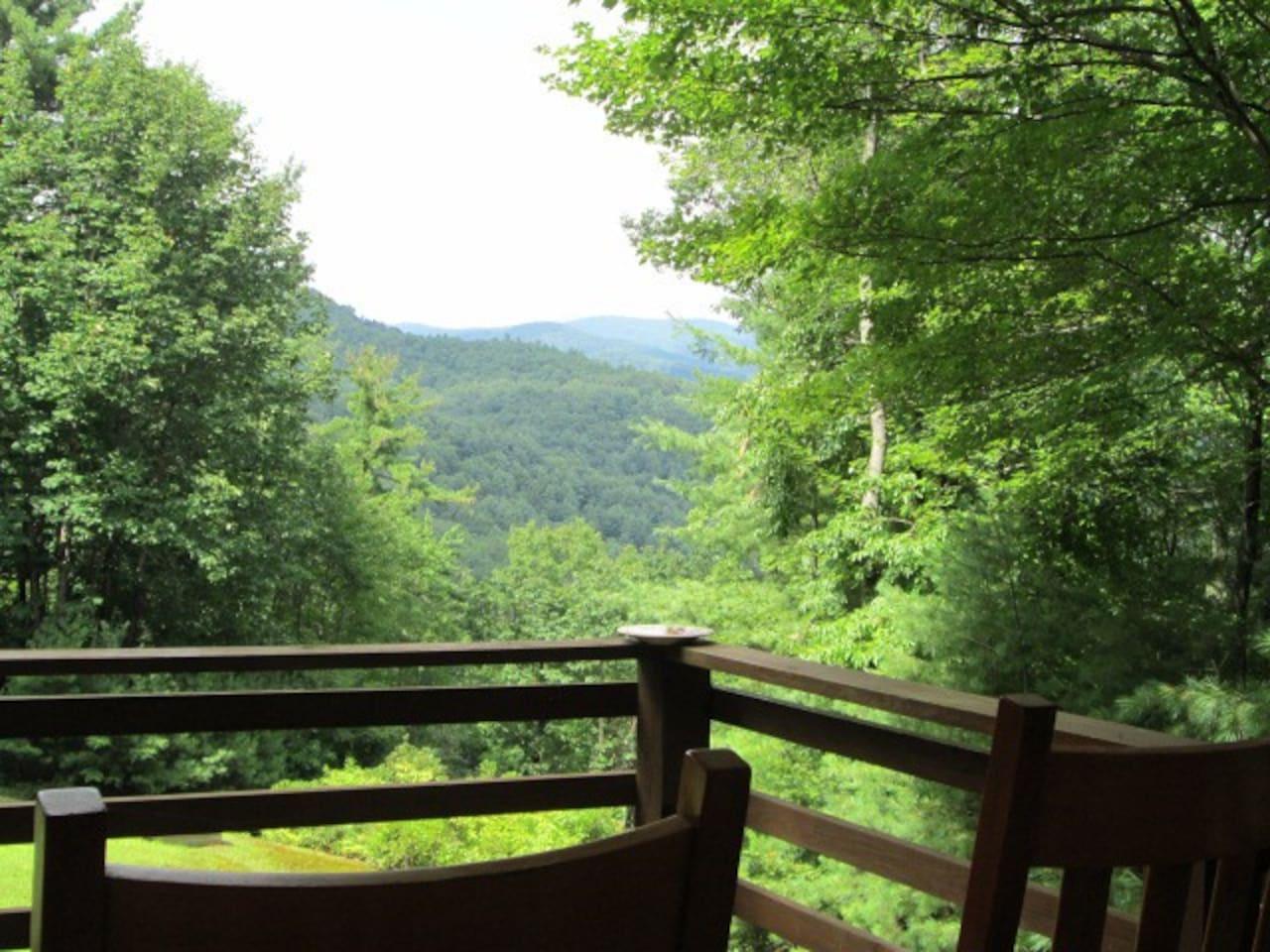 View of Appalachian Mountains