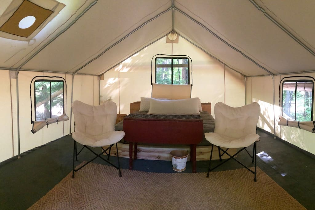 Bright airy interior