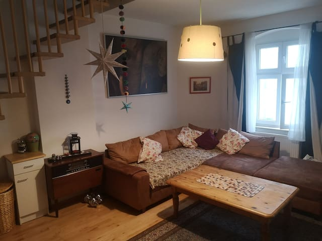 1 bedroom duplex apartment in  trendy Prenzl. Berg