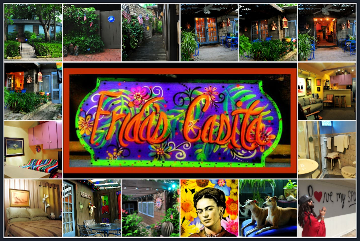 Cozy, Comfortable,  Colorful and Convenient Guest Casita  waiting for you. We live on premises and here to make sure your visit to San Antonio is fun and memorable.