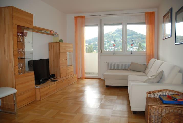 71m2 Ferienwohnung bis 5 Personen, Gratisparkplatz - Graz - Apto. en complejo residencial