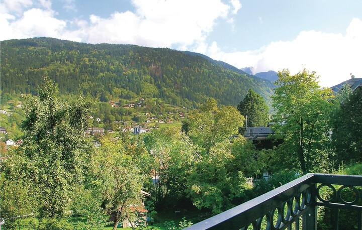 Beautiful home in St Gervais Les Bains with 1 Bedrooms