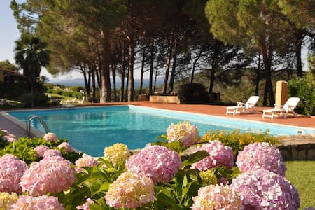 Villa in lush garden - Baja Sardinia - 连栋住宅
