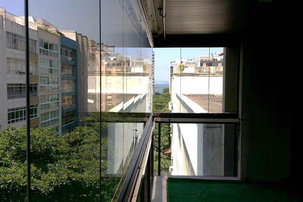 Vista da Varanda para Copacabana
