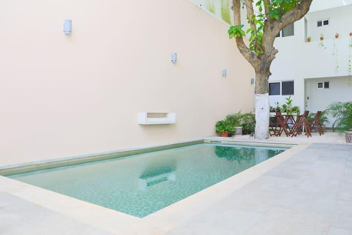 Apartment 7 piscina / Near the beach & 5ta Av