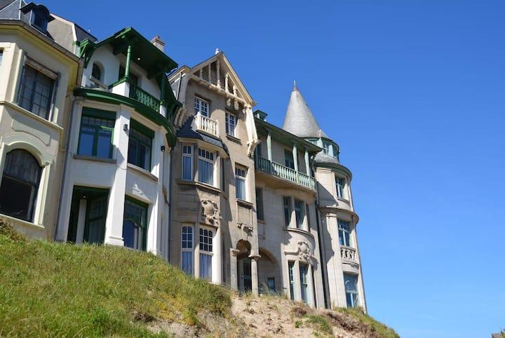 Zeezicht vakantiehuis Villa Anita, Witte Berg