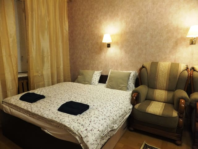 Cosy spacious apartment at VDNH, Zvezdny boulevard