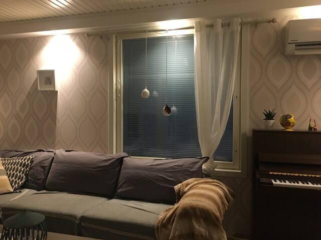 Kodikas paritalo asunto kahdessa kerroksessa