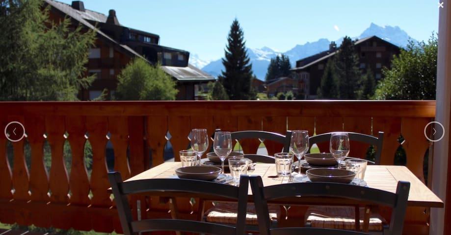 Elegant ski & hiking flat for 6, Villars s/Ollon