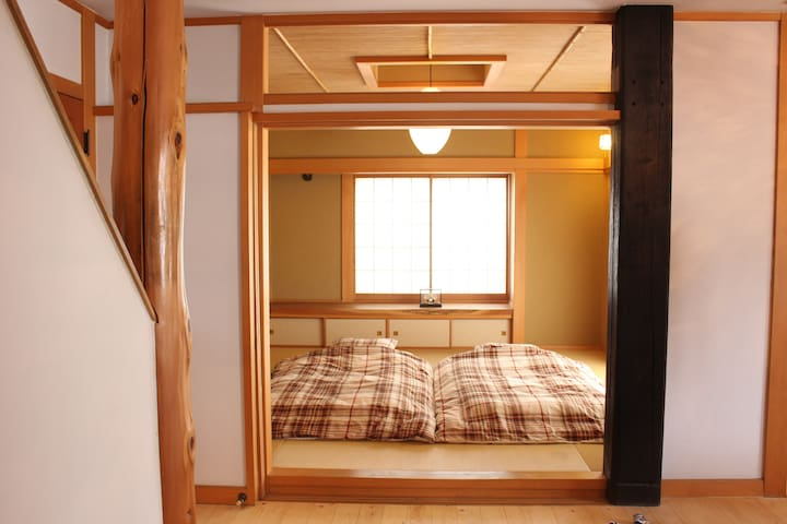Wooden house near Tokyo Disney Resort 1