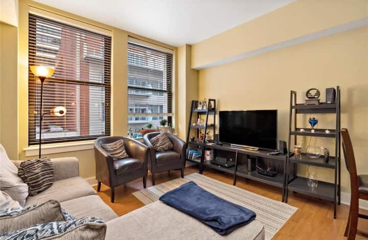 Heart of Downtown 1BR apartment