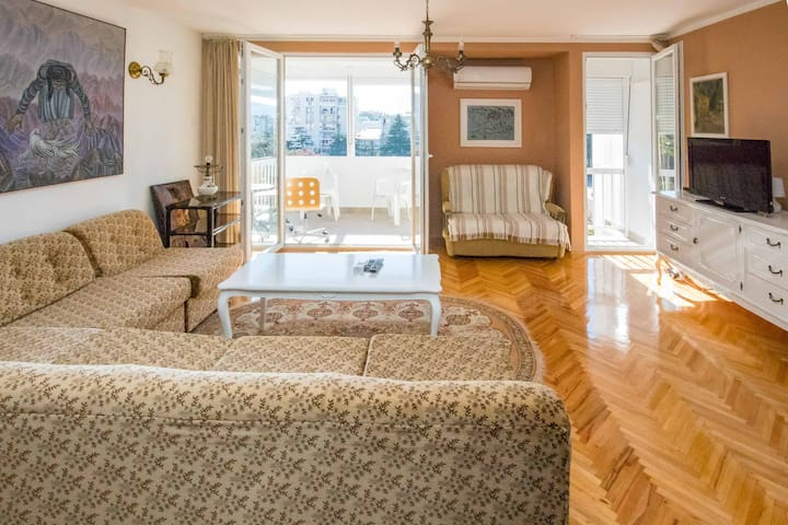 Spacious, downtown 80 m2 apartment