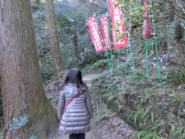 Road to the Sasuke Shrine