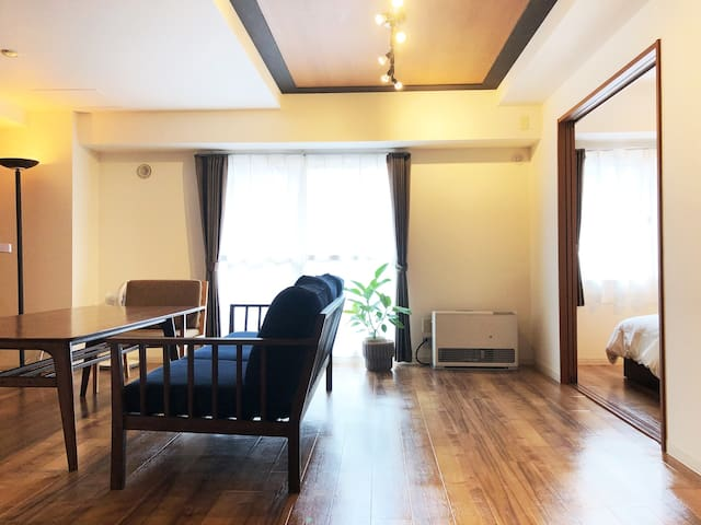 2S4 26  Spacious 2BR apartment, Can enjoy the city