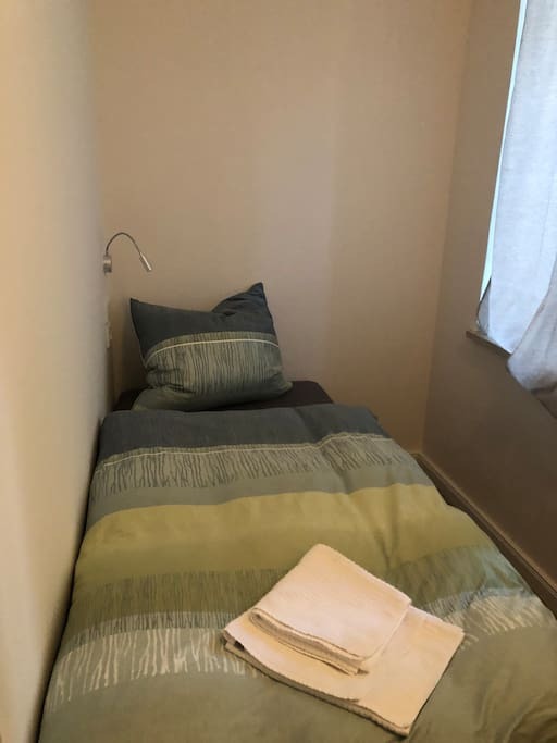 Modernes Bett ideal zum relaxen