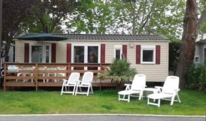 3 Bedroom Mobile Home 5 * Campsite Argeles Sur Mer