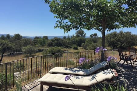Gorgeous house in the Luberon, 5 km from Gordes - Joucas