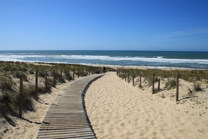 Coquette maison Landes 1,5km plage Tarnos Bayonne