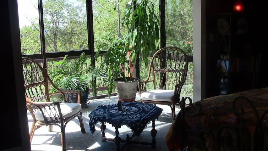 Secluded One Bedroom in the Treetops - Longview - บ้าน