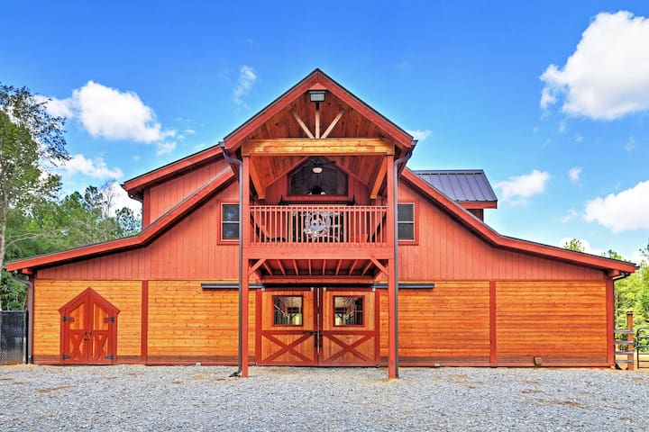 1BR + Loft Dry Branch Apt on 488 Acres w/ 3 Lakes!