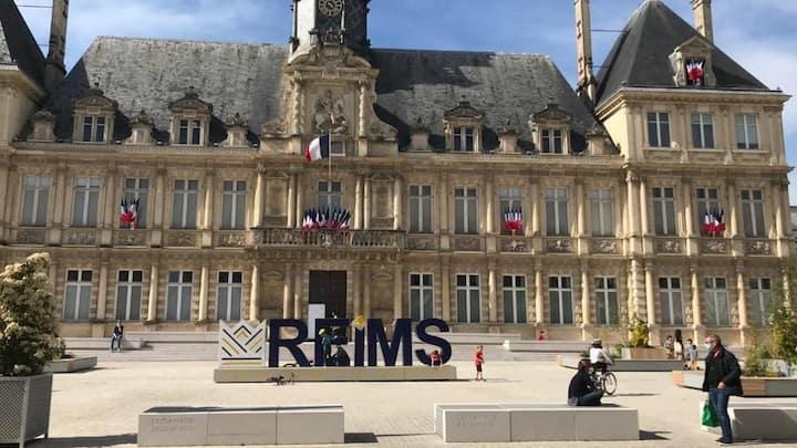 Appartement en hyper centre de Reims