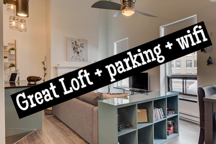 Great loft in the heart of Old Port of Montréal - Μόντρεαλ - Διαμέρισμα