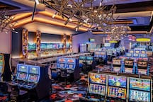 Gamble to your heart's content with a vast selection of slot machines